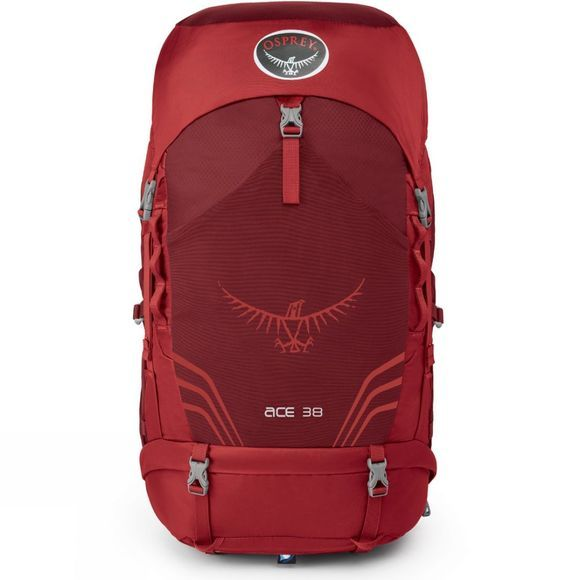 Osprey Ace 38 Youth Paprika Red