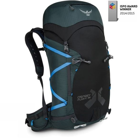 Osprey Mutant 38 Gritstone Black