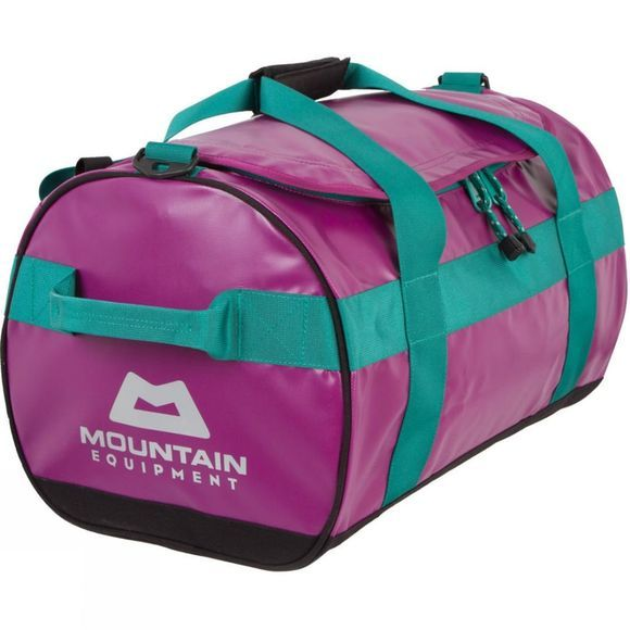 Mountain Equipment Wet & Dry Kit Bag 40L Foxglove/Emerald Webbing/Silver Logo