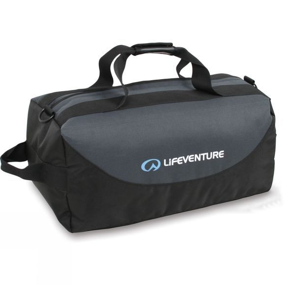 Lifeventure Expedition 100L Duffel Black / Charcoal