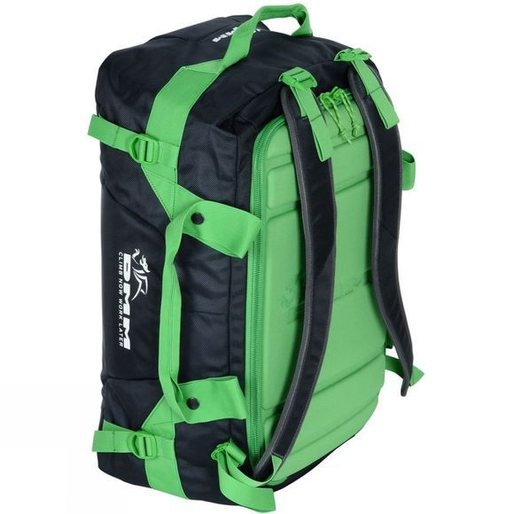 DMM Void Duffel Bag 45L Black/Green