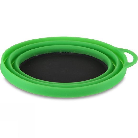 Lifeventure Ellipse Silicone Bowl Green