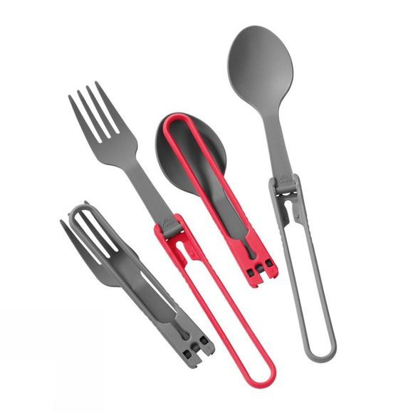 MSR Folding Spoon and Fork Kit (2 of each) .