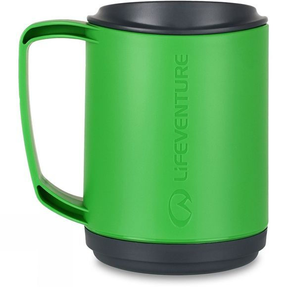 Lifeventure Ellipse Insulated Mug Green