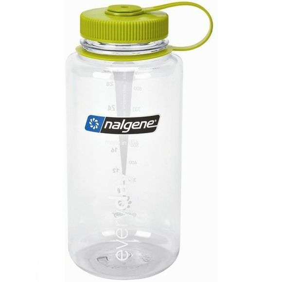 Nalgene Wide Mouth Tritan 1.0Litre Clear