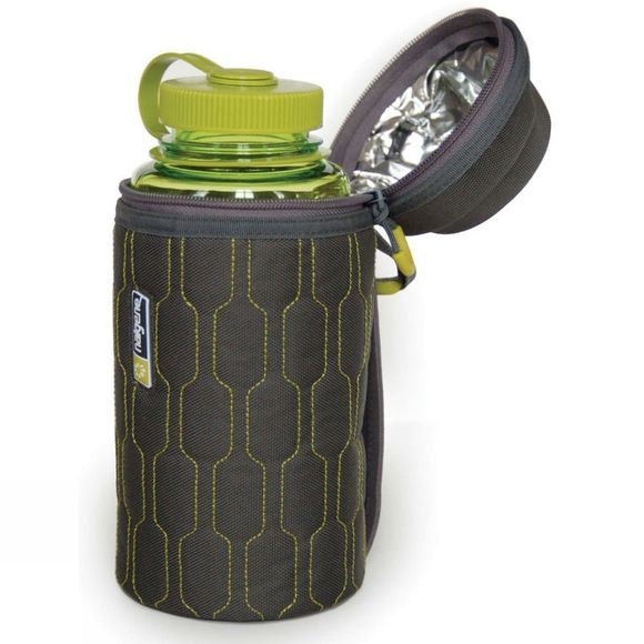 Nalgene Insulated Bottle Cover 1L Green/Grey