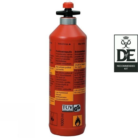 Trangia Fuel Bottle 1L Red