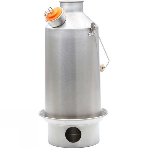 Kelly Kettle Base Camp Kettle 1.5Ltr Stainless Steel No Colour