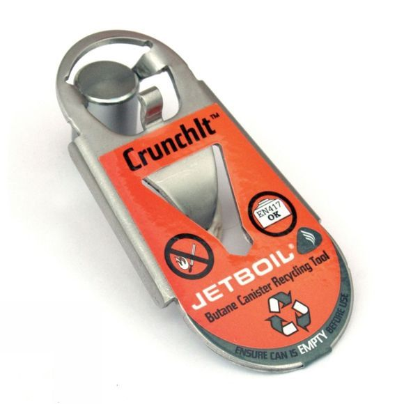 Jetboil Crunchit Gas Canister Recycling Tool No Colour