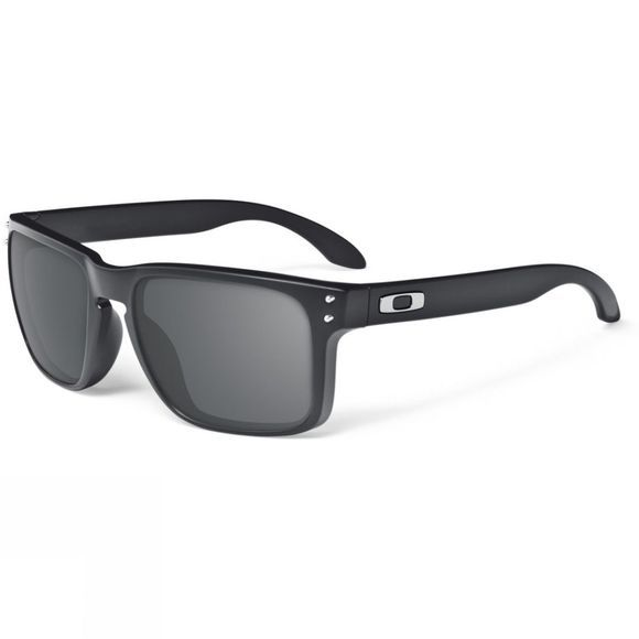 Oakley Holbrook Sunglasses Matte Black/ Warm grey