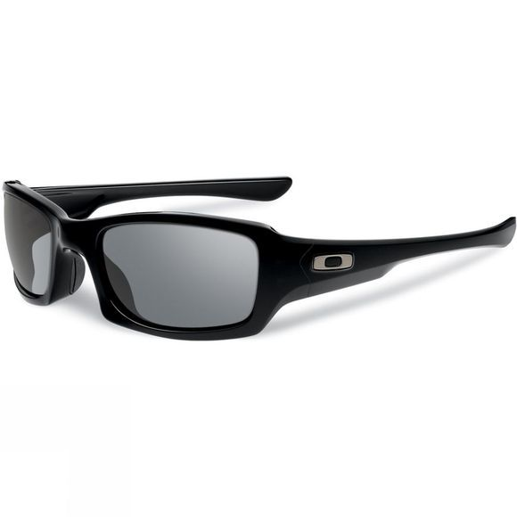 Oakley Fives Squared Sunglasses Polished Black/Grey