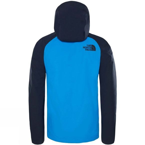 The North Face Men's Stratos Jacket Bomberble/MidGrey/UrbNavy