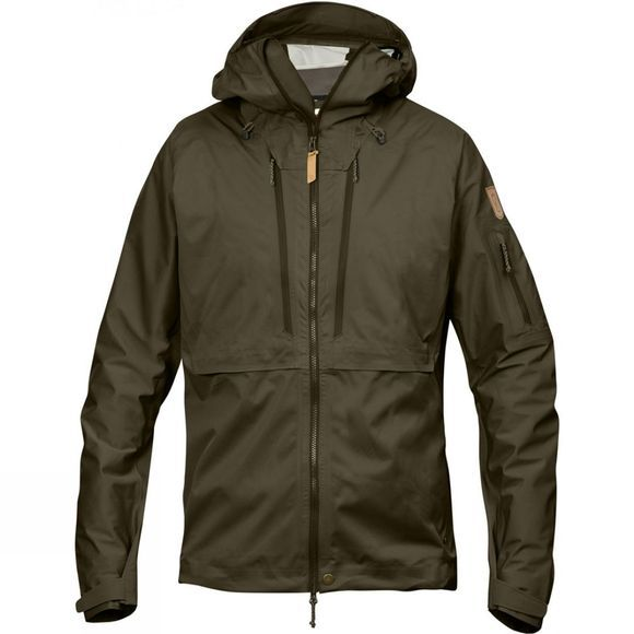 Fjallraven Mens Keb Eco-Shell Jacket Dark Olive