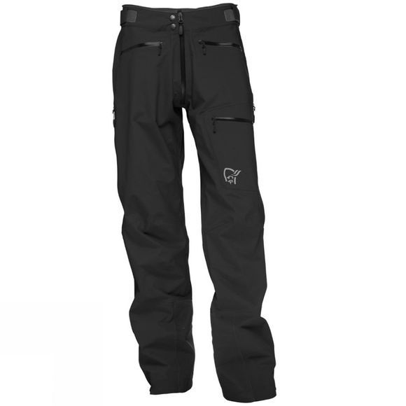 Norrona Men's Trollveggen Gore-Tex Light  Pro Pant Caviar