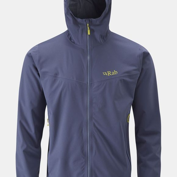 Rab Mens Kinetic Plus Jacket Steel