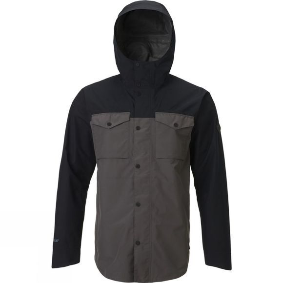 Burton  Packrite Gore-Tex Paclite Shacket True Black/Pavement