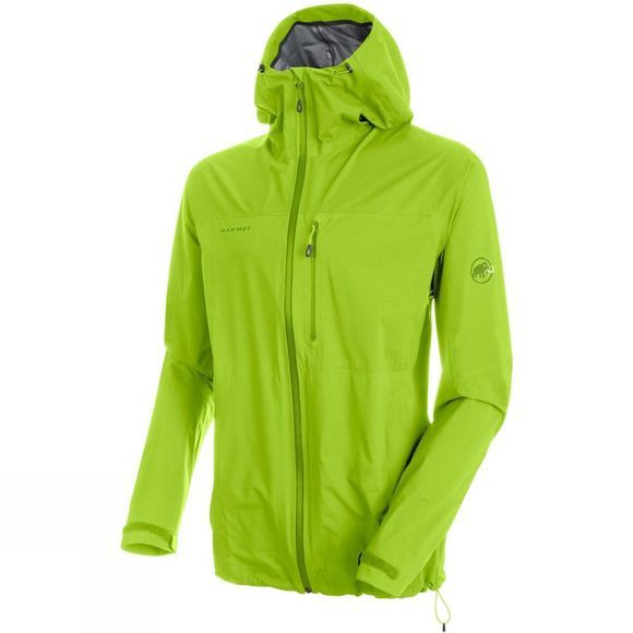 Mammut Mens Rainspeed Advanced HS Hooded Jacket Sprout