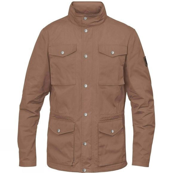 Fjallraven Mens Räven Jacket Dark Sand
