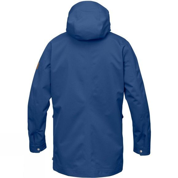 Fjallraven Mens Greenland Eco-Shell Jacket Deep Blue