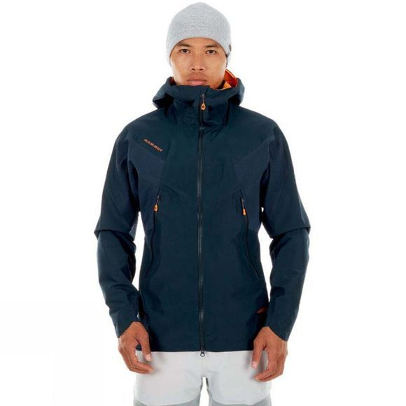 Mammut Mens Nordwand HS Flex Hooded Gore-Tex Jacket Night