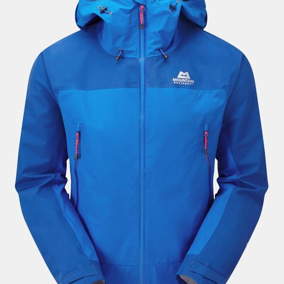 Mountain Equipment Mens Saltoro Jacket  Lapis Blue/Dark Ocean