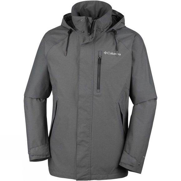 Columbia Mens Good Ways II Jacket Black Heather
