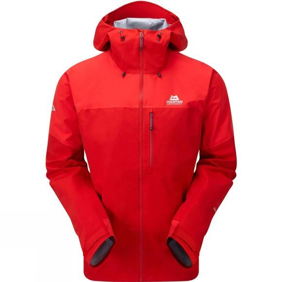 Mountain Equipment Mens Lhotse Atmo Jacket Crimson / Imperial Red