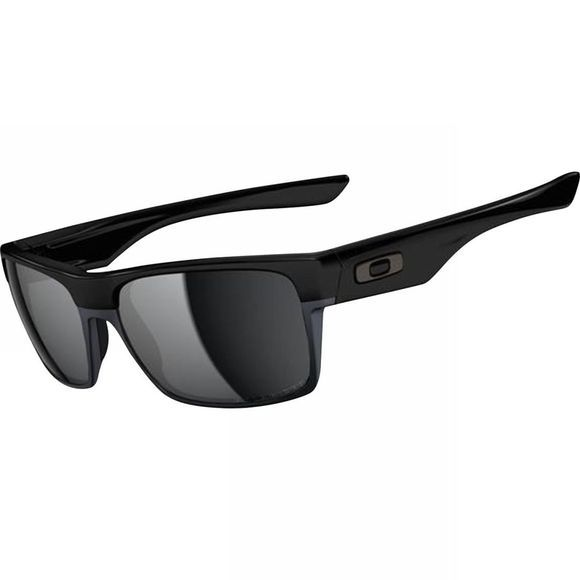 Oakley Twoface Sunglasses Polished Black/Black Iridium Polarized