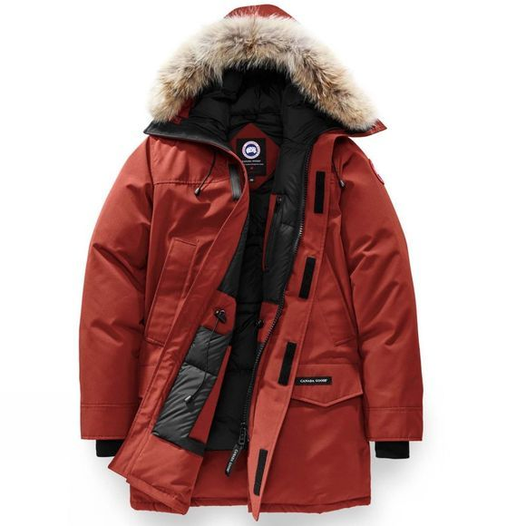 Canada Goose Men's Langford Parka Red Jasper
