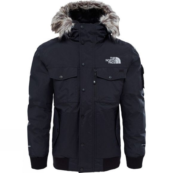 The North Face Men's Gotham Jacket TNF Black/High Rise Grey