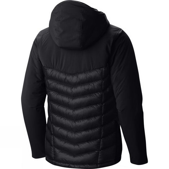 Mountain Hardwear Men's Supercharger Hooded Insulated Jacket Black/Black