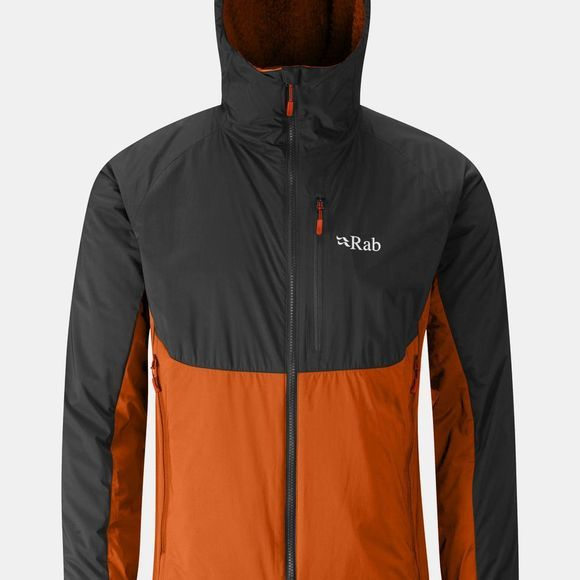 Rab Men's Alpha Direct Jacket Beluga / Oxide / Oxide