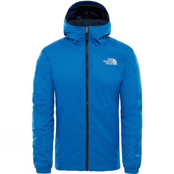The North Face Men's Quest Insulated Jacket Turkish Sea Black Heather