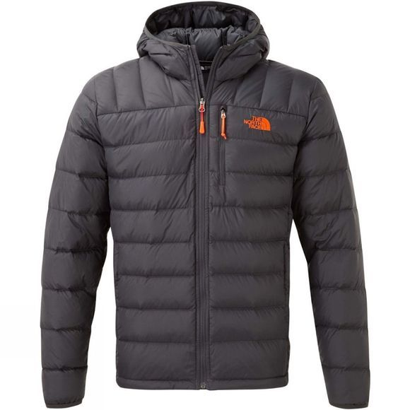 The North Face Mens Ryeford Jacket Asphalt Grey/Persian Orange