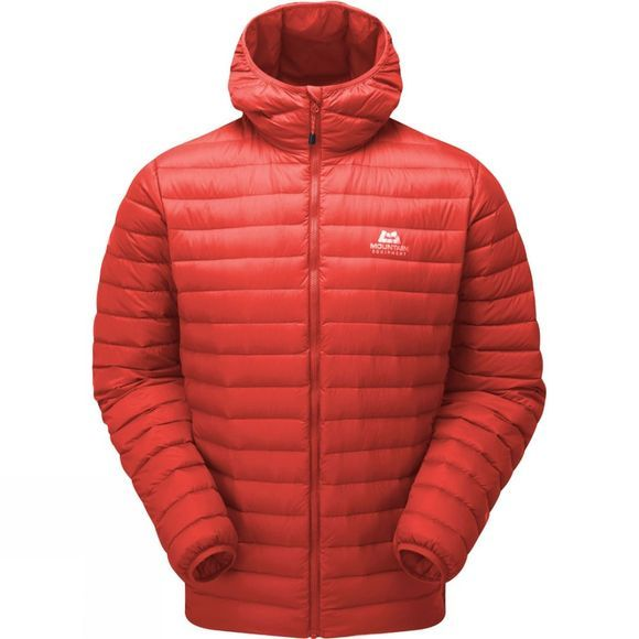 Mountain Equipment Mens Arete Hooded Jacket Cardinal Orange