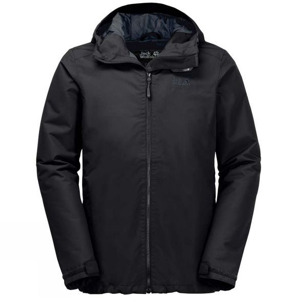 Jack Wolfskin Mens Chilly Morning Jacket Black