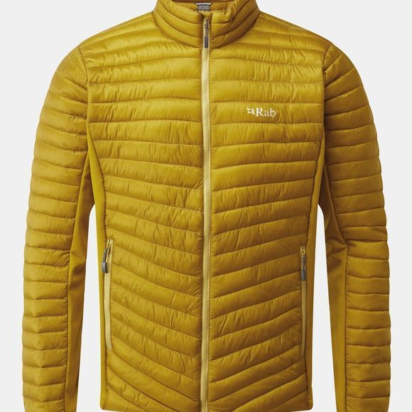 Rab Mens Cirrus Flex Jacket Dark Sulphur