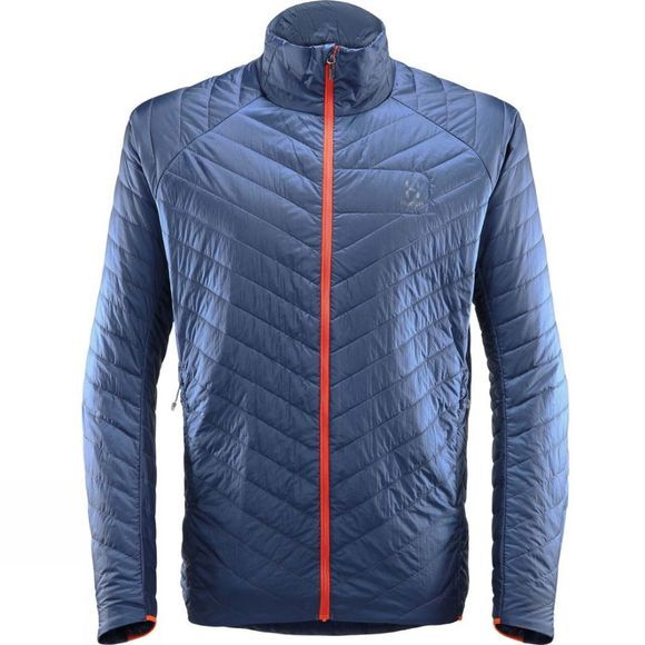 Haglofs Mens L.I.M Barrier Jacket Tarn Blue/Cayenne