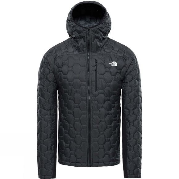 The North Face Mens Impendor Thermoball Hybrid Hoodie TNF Black/ TNF Black
