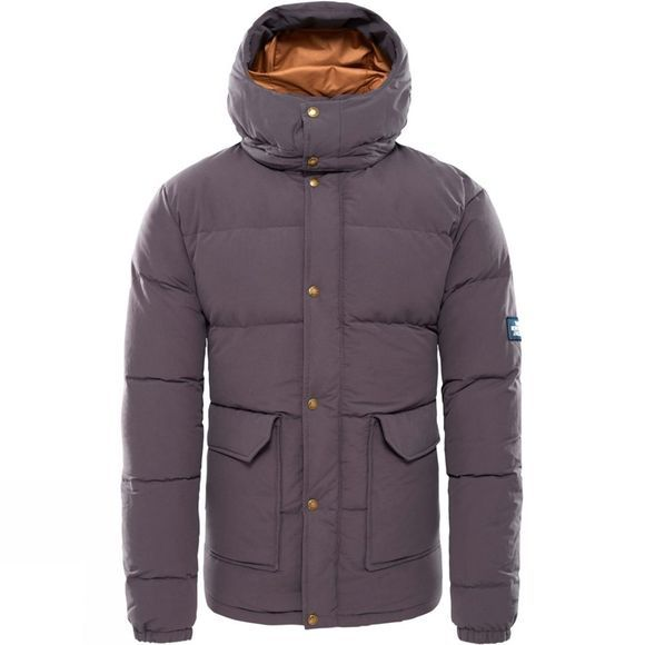 The North Face Mens Down Sierra Jacket Weathered Black