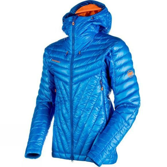 Mammut Mens Eigerjoch Advanced In Hooded Jacket Ice