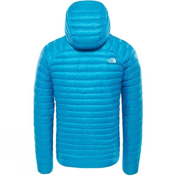 The North Face Mens Impendor Down Hoodie Hyper Blue