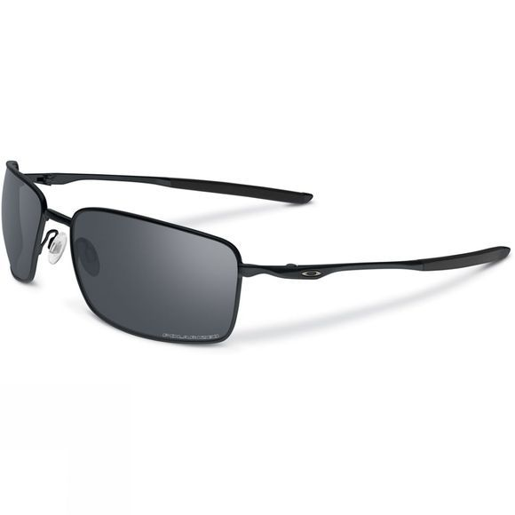 Oakley Square Wire Sunglasses Matte Black/ Black Iridium Polarized