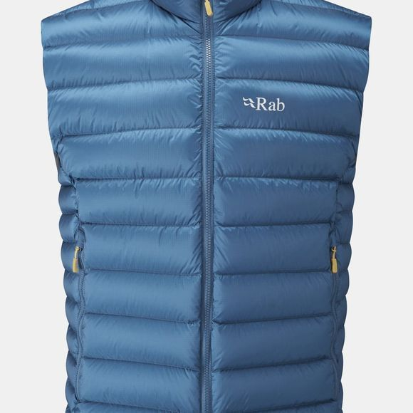 Rab Mens Electron Vest Ink/  Mimosa