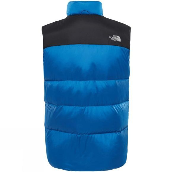 The North Face Mens Nuptse III Gilet Turkish Sea/ TNF Black