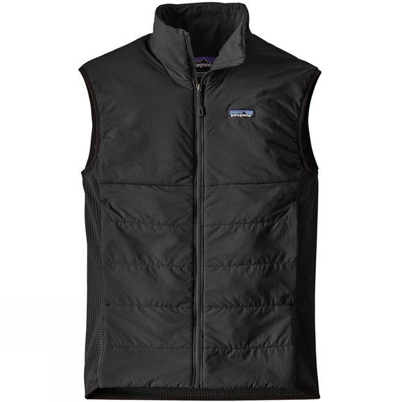 Patagonia Mens Nano-Air Light Hybrid Vest  Black