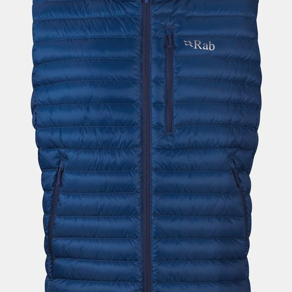 Rab Mens Microlight Vest Celestial/Deep Ink