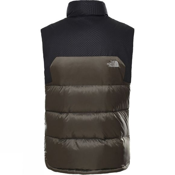 The North Face Mens Nevero Down Gilet New Taupe Green/TNF Black