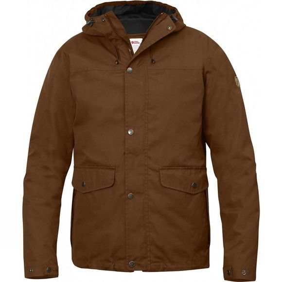 Fjallraven Mens Övik 3-in-1 Jacket Chestnut