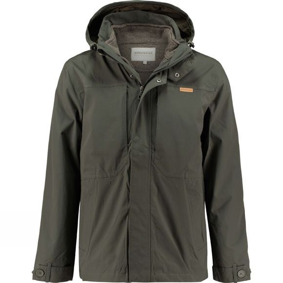 Ayacucho Mens Ontario 3-in-1 Jacket Beluga